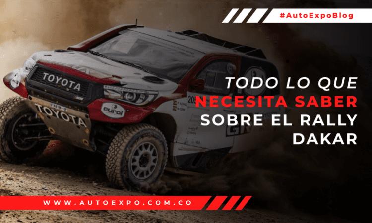 Todo lo que necesita saber sobre el Rally Dakar Autoexpo Concesionario