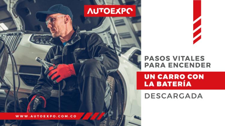 ¿Cómo prender un carro correctamente utilizando cables pasa corriente? Autoexpo Concesionario