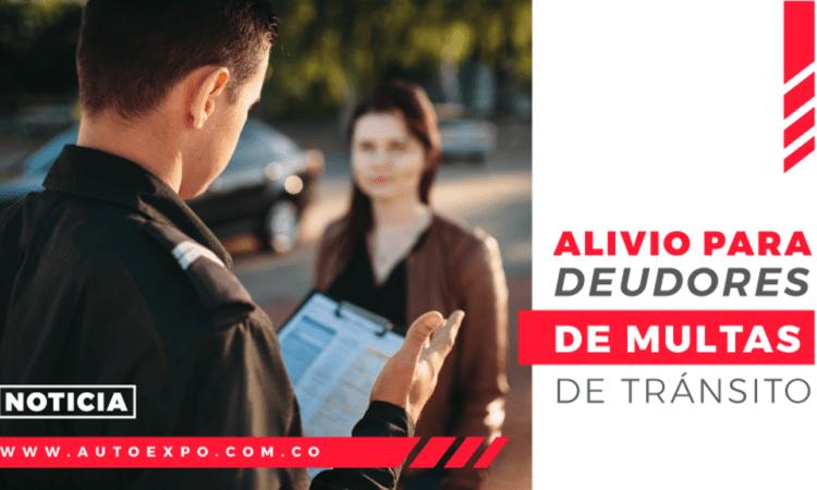 Noticia - Nuevo alivio del 50% para deudores de multas de tránsito - Autoexpo